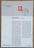 FDC Sur Document - YT N°2863 - JOURNEE DU TIMBRE / MARIANNE DE DULAC - 1994 - 1990-1999