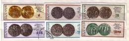 1970 ANTIQUITY COINS 6 V. Used/oblit.(O)  BULGARIA / Bulgarie - Usados