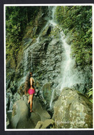 Polynésie Française - Tahiti - Cascade De Tahiti - District De Tiarel ( Pacific Promotion N° 169) Femme Aux Seins Nus - French Polynesia