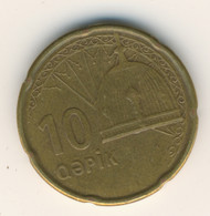 AZERBAIJAN 2006 - 2011: 10 Qapik, KM 42 - Azerbaïjan
