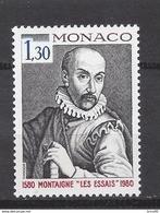 ⭐ Monaco - YT N° 1227 - Neuf Sans Charnière - 1980 ⭐ - Unused Stamps