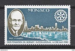 ⭐ Monaco - YT N° 1229 - Neuf Sans Charnière - 1980 ⭐ - Unused Stamps