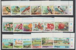 ANTIGUA  1976    **   MNH   YVERT   397/414  VALOR   28.50 €   PAJAROS - Antigua Y Barbuda (1981-...)