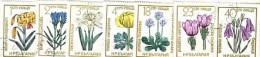 1972 Flora FLOWERS 7v.- Used /oblitere (O)  BULGARIA / Bulgarie - Usados