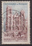 Cathédrale De Bourges - FRANCE - N° 1453 - 1965 - Used Stamps
