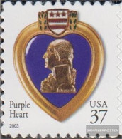 U.S. 3744BF (complete Issue) Unmounted Mint / Never Hinged 2003 Purple Heart - Nuovi