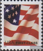 U.S. 3585 (complete Issue) Unmounted Mint / Never Hinged 2002 Flag - Nuevos
