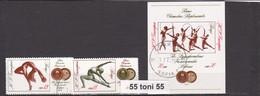 1972 World Champ.Gymnastics-Artistic Mi-2142/43+Bl.35  S/S- Used/oblitere  Bulgaria/Bulgarie - Usados