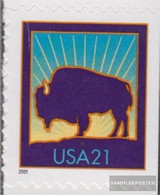 U.S. 3488BDr (complete Issue) Unmounted Mint / Never Hinged 2001 Bison - Nuevos