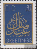 U.S. 3486 (complete Issue) Unmounted Mint / Never Hinged 2001 Islamische Holidays - Nuevos