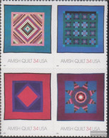 U.S. 3478-3481 Block Of Four (complete Issue) Unmounted Mint / Never Hinged 2001 American Folk - Nuevos