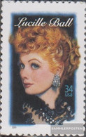 U.S. 3477 (complete Issue) Unmounted Mint / Never Hinged 2001 Lucille Ball - Nuevos