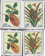 U.S. 2806-2809 (complete Issue) Unmounted Mint / Never Hinged 1997 Clear Brands: Flowers - Nuovi