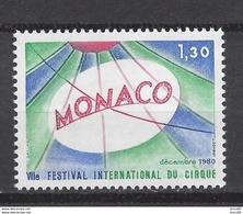 ⭐ Monaco - YT N° 1248 - Neuf Sans Charnière - 1980 ⭐ - Unused Stamps