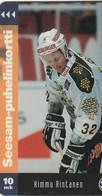 Finland - Ice Hockey - Kimmo Rintanen 32 - TTL-D-109A - Finland
