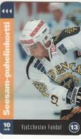 Finland - Ice Hockey - Vjatcheslav Fandul 13 - TTL-D-125A - Finland