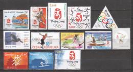 SUMMER OLYMPICS BEIJING 2008 - Various Issues MNH (B) - Verano 2008: Pékin