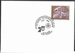 """AUSTRIA - SCOUTISMO -  ANNULLO SPECIALE """" BRIEFMARKENAUSSTELLUNG-75 JAHRE PFADFINDERINNEN - 26.10,1985"""" - 1981-90 Cartas"""
