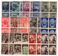 1942-1943  History Of Bulgaria Yvert- 406/19 14 V.-MNH   Block Of Four Bulgaria/Bulgarie - Neufs