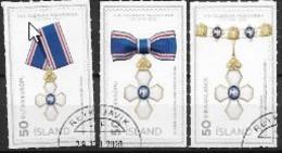 Islande 2020, Série Oblitérée Médailles - Gebraucht