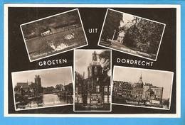 Dordrecht  Groeten Uit 5-luik 1912 RY48737 - Dordrecht