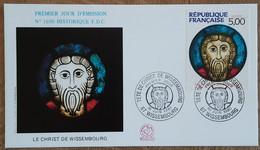 FDC 1990 - YT N°2637 - TETE DE CHRIST DE WISSEMBOURG - 1990-1999