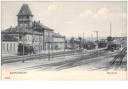 57 . N° 50470 . Saargemund . Bahnhof - Sarreguemines