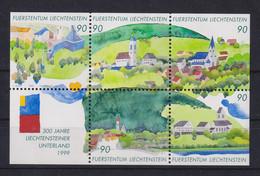 Liechtenstein 1999 Liecht. Unterland Mi-Nr. Block 16 ** - Non Classificati