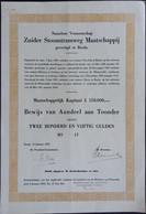 Zuider Stoomtram MIJ. Breda 1952 - Ferrocarril & Tranvías