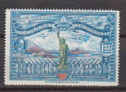 Nicaragua 1940 Yvert 224 * Neuf Avec Charniere. Cinquantenaire De L'Union Panamericaine - Nicaragua