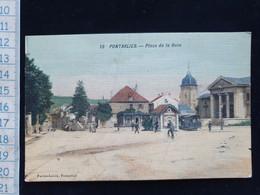 CPA  D25 Pontarlier Place De La Gare - Pontarlier