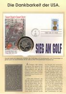 288Y * WASHINGTON * SELTENER BRIEF ÜBER DEN SIEG AM GOLF MIT $ 5,00 DER MARSHALLINSELN 1991 **!! - Cartas