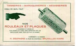 IMPRIME.BELGIQUE.BRUXELLES.MATERIELS POUR TANNERIE & MEGISSERIE.H.DOUPAGNE 14 RUE DU CHATEAU. - Sin Clasificación