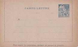 COLONIES GENERALES  ENTIER POSTAL/GANZSACHE/POSTAL STATIONARY CARTE-LETTRE - Alphée Dubois