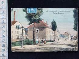 CPA  D25 Pontarlier Distillerie Junod - Pontarlier