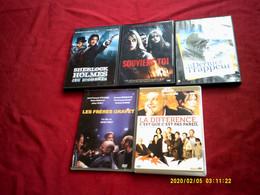 REF 37  °°° LOT DE 5 DVD  POUR 10 EUROS °° POSSIBILITES  DE CHOISIR D'AUTRE TITRE DANS NOS AUTRE LOT - Collections & Sets