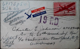 G 3   1945 Lettre Poste Militaire - Briefe U. Dokumente