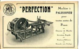 """IMPRIME.LA METALLURGIQUE ELECTRIQUE.PUB.POUR LA MACHINE A PALISSONER """" PERFECTION """" USINES A IVRY SUR SEINE & A JAVEL. - Sin Clasificación"""