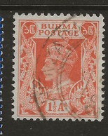 Burma, 1946, SG 55, Used - Burma (...-1947)