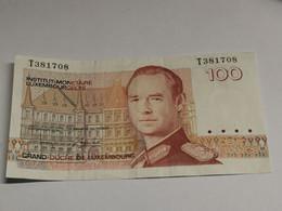 Luxembourg, 100 Francs Jean . Circulé - Luxemburg