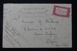 ALGÉRIE - Enveloppe D'un Soldat De Constantine Pour Un Soldat à Dijon En 1938 - L 90202 - Lettres & Documents