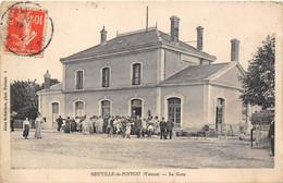 86-NEUVILLE-DE-POITOU- LA GARE - Neuville En Poitou