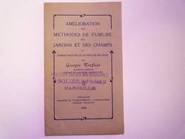 GP 2021 - 70  G. TRUFFAUT  Amélioration Des Méthodes De Fumure Des Jardins Et Des Champs  1926   XXX - Sin Clasificación