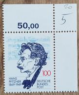 RFA - 1994 - YT N°1565 - Hans Pfitzner, Compositeur - Neufs