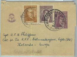 94033 - ARGENTINA - POSTAL HISTORY - STATIONERY WRAPPER + Franking To NETHERLAND 1948 - Ganzsachen