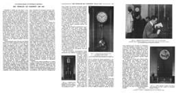 "DES PENDULES QUI MARCHE  "" 1000 ANS ""  1924 - Altri"