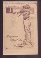 """Programme """" Jardin Du Luxembourg """" Du 26 Septembre 1911 """" Musique De La Garde Républicaine """" - Programmi"""