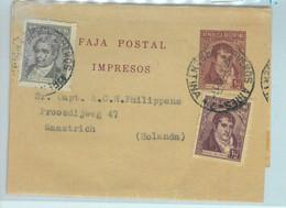 94034 - ARGENTINA - POSTAL HISTORY - STATIONERY WRAPPER + Franking To NETHERLAND - Ganzsachen
