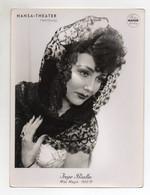 C2165/ Inge Bialla Miss Magie Zaubern Hansa Theater Photo Mahler Hamburg  Foto  - Non Classificati