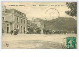 63.LA BOURBOULE.LA GARE ET LE PUY GROS - La Bourboule